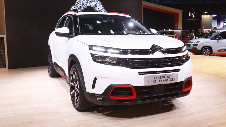 Salão de Paris: Citroën C5 Aircross será lançado no Brasil