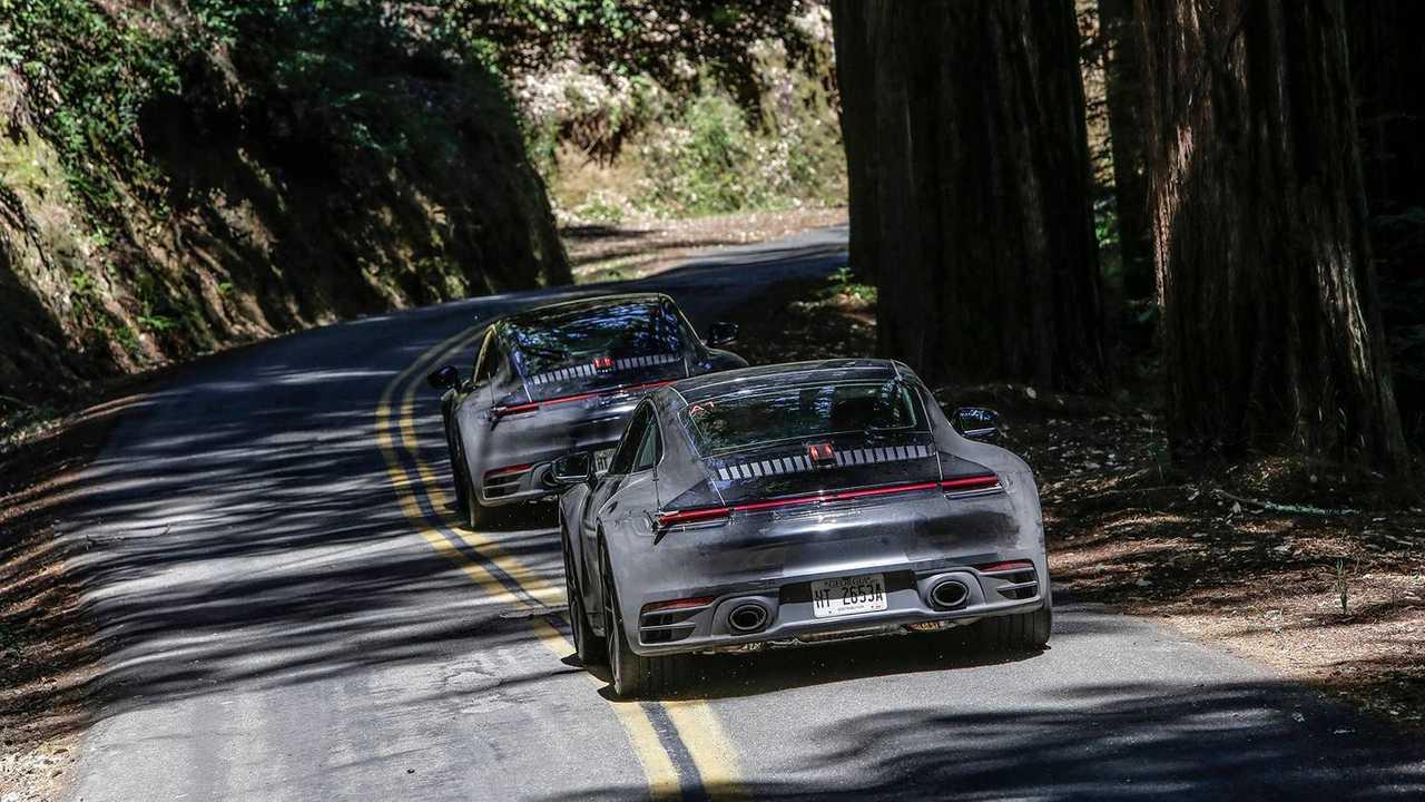 2020 Porsche 911 Carrera S prototype