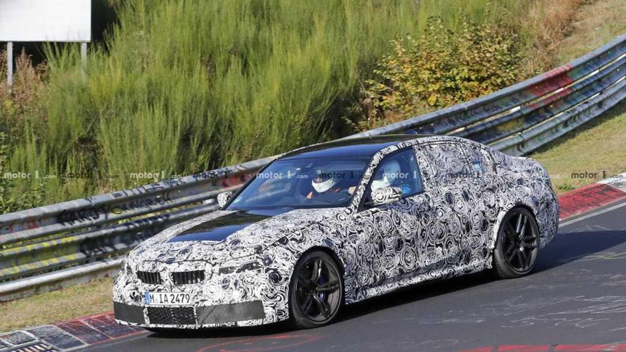 BMW M3 (G80) 2019 Erlkönig