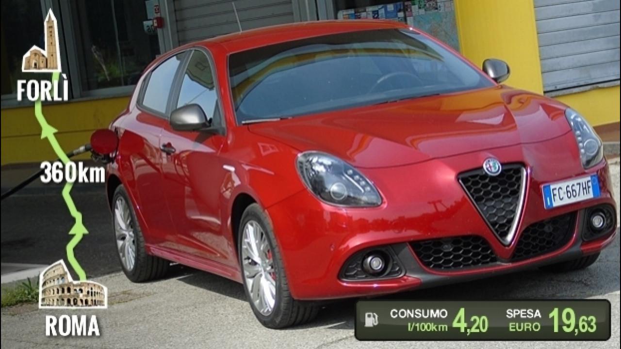 [Copertina] - Alfa Romeo Giulietta 1.6 JTDM, la prova dei consumi reali