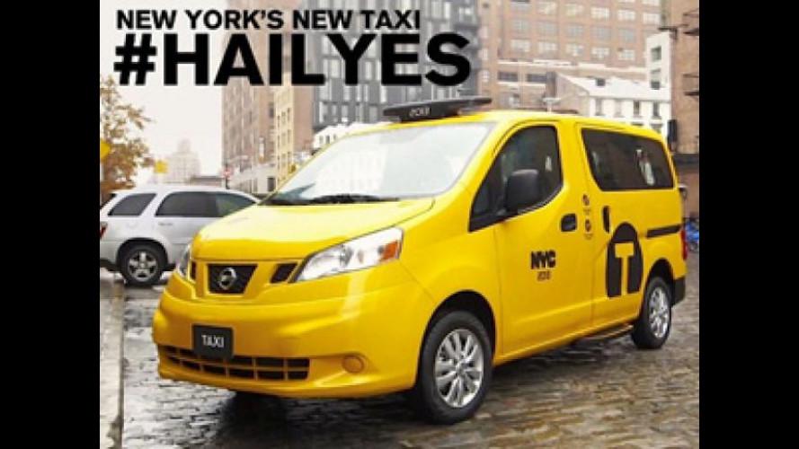 Nissan NV200  alla conquista dei cittadini di New York