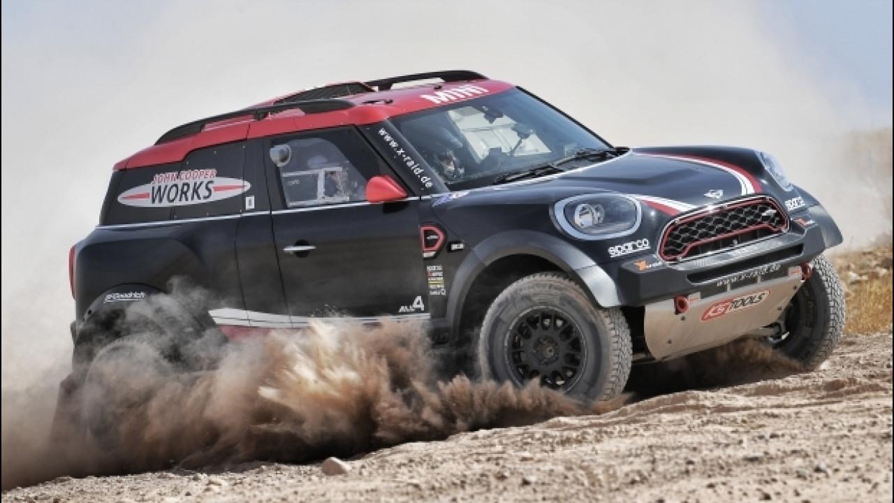 [Copertina] - MINI John Cooper Works Rally, il gigante buono del deserto