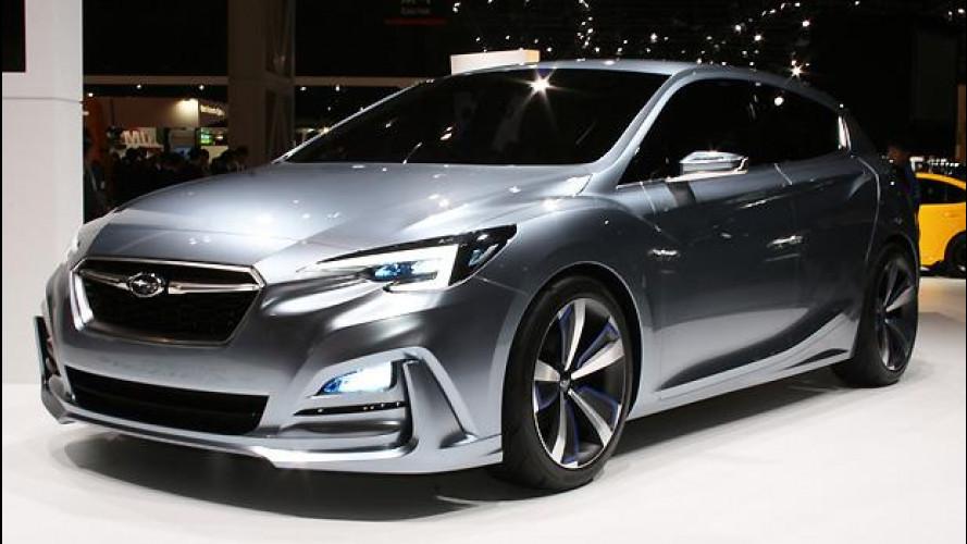 Subaru Impreza Concept, la nuova 5 porte debutta a Tokyo