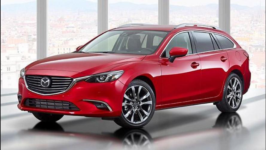 [Copertina] - Mazda6 restyling, più ricca e anche integrale