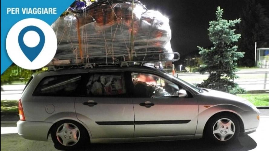 Viaggi lunghi in auto, 3 cose da ricordare