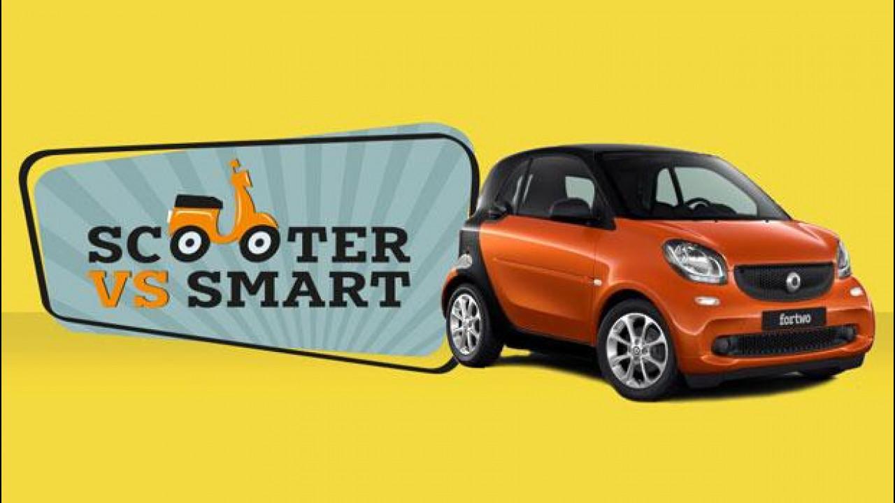 [Copertina] - smart, a Roma parte la supervalutazione sugli scooter [VIDEO]