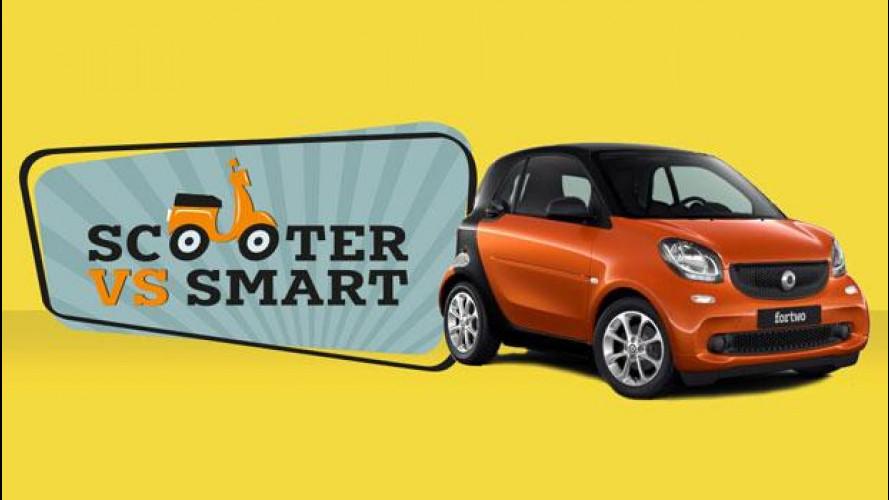 smart, a Roma parte la supervalutazione sugli scooter [VIDEO]