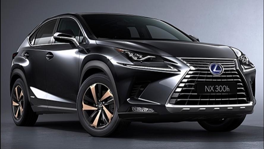 """Lexus NX restyling, più """"affilato"""" che mai"""