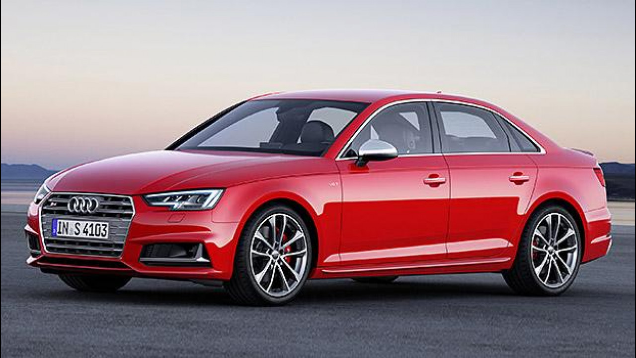[Copertina] - Salone di Francoforte, la nuova Audi S4 ha 354 CV