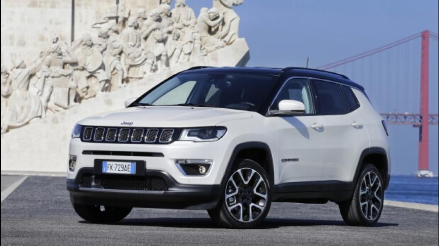 Jeep Compass, debutto in concessionaria anche in versione Business