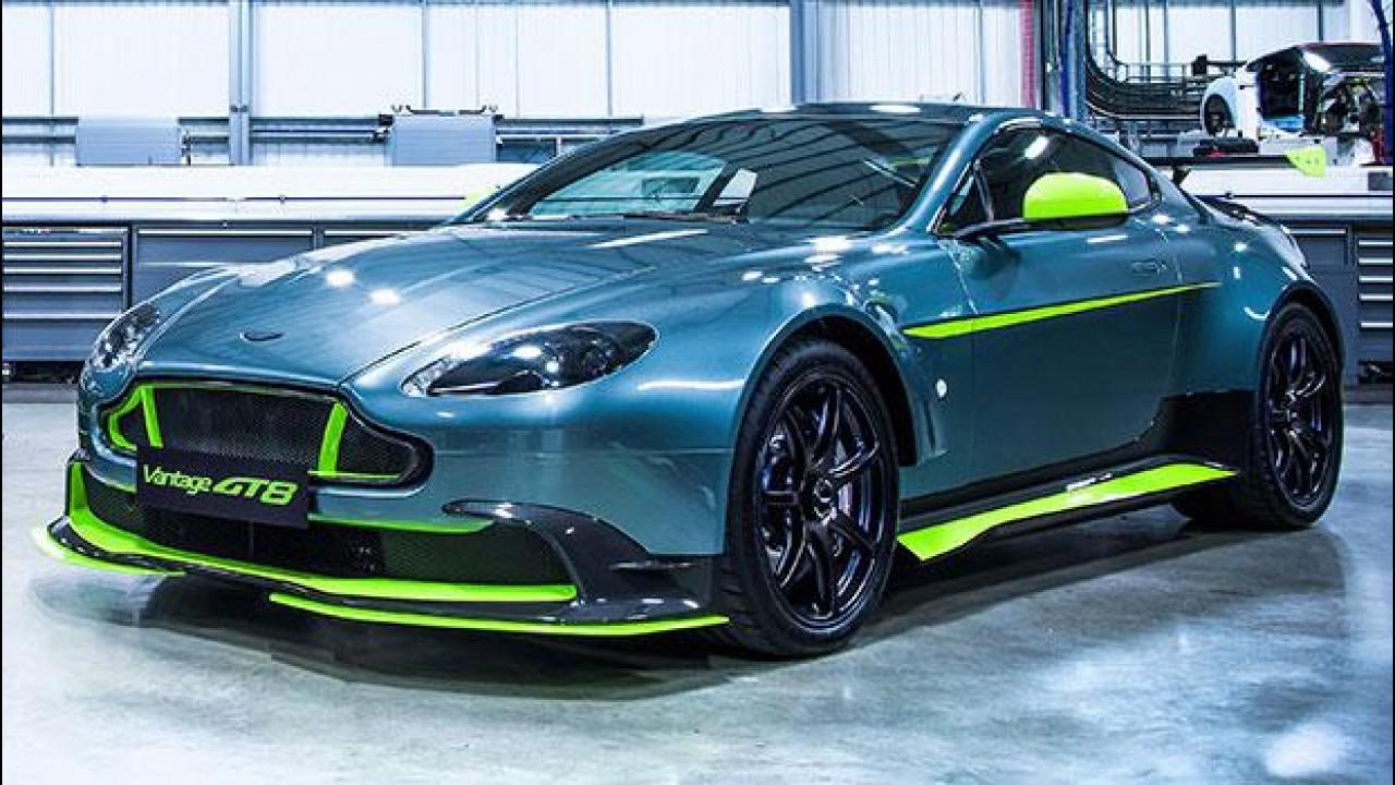 [Copertina] - Aston Martin Vantage GT8, nata dalle corse