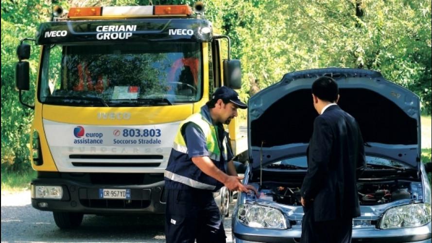 Europ Assistance, l'assistenza stradale anche da smartphone