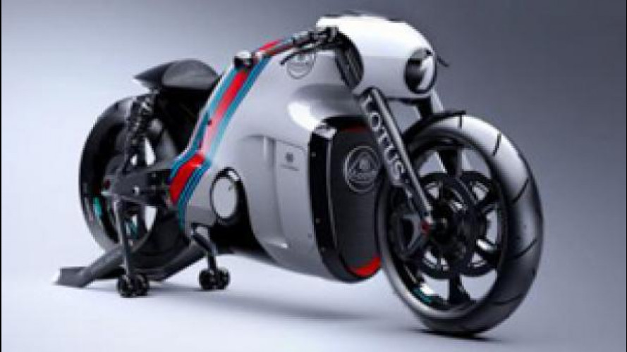 La custom/superbike Lotus è arrivata