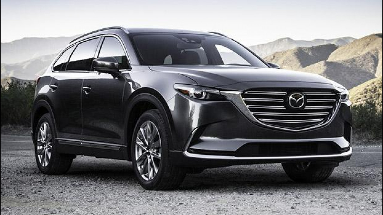 [Copertina] - Nuova Mazda CX-9, 7 posti e motore Skyactiv-G 2.5T
