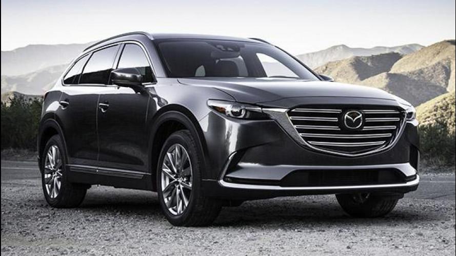 Nuova Mazda CX-9, 7 posti e motore Skyactiv-G 2.5T