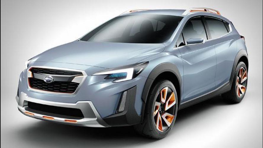 Subaru XV concept, dinamica e robusta