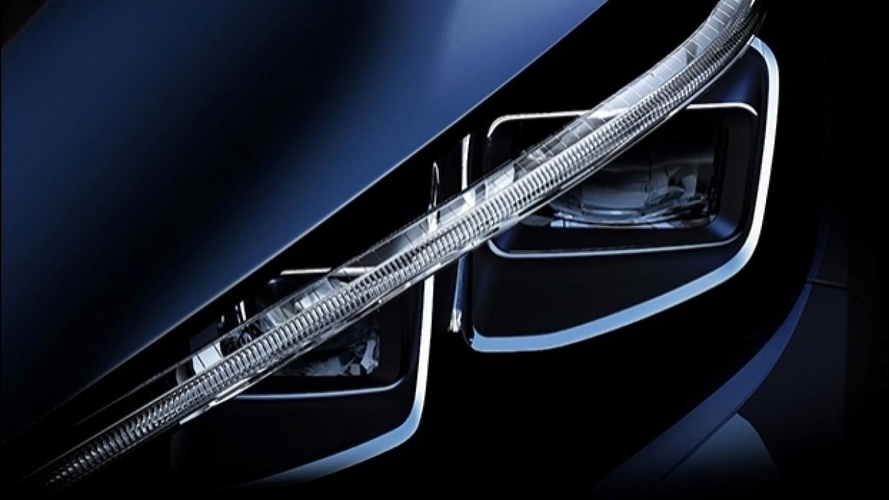 [Copertina] - Nuova Nissan Leaf, ecco il suo sguardo