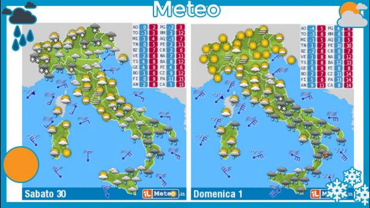 [Copertina] - Meteo del fine settimana 30 novembre e 1 dicembre 2013
