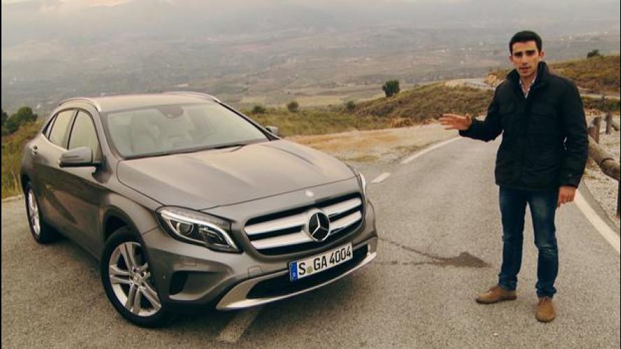 Mercedes GLA, la prova del primo crossover della Stella [VIDEO]