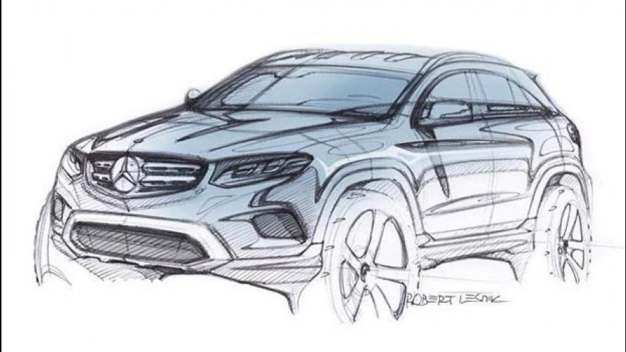 Mercedes GLC, si svela il 17 giugno