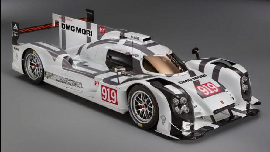 Porsche 919 Hybrid, a Le Mans con efficienza