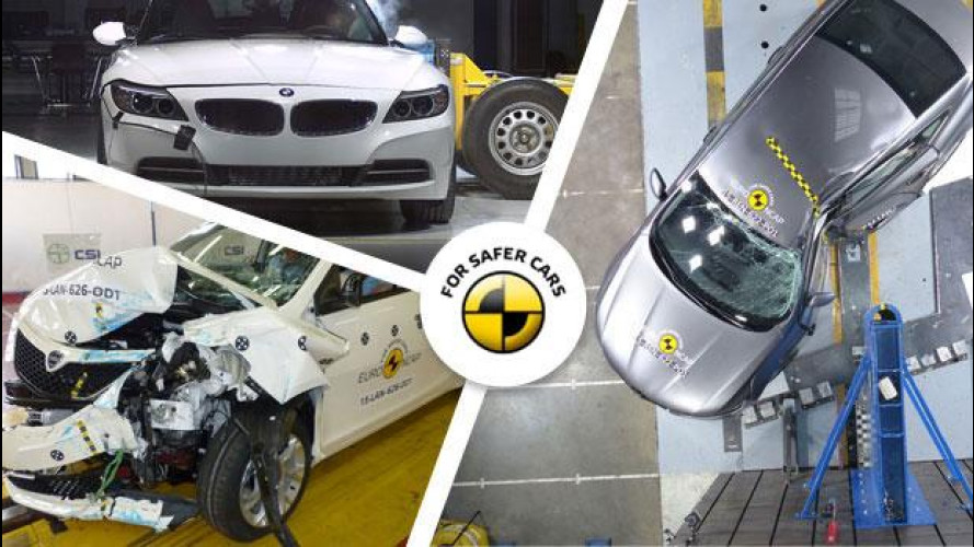 Crash test Euro NCAP, premiata la frenata automatica