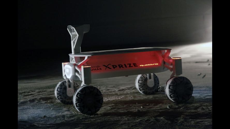 Audi, la tecnologia quattro andrà sulla Luna
