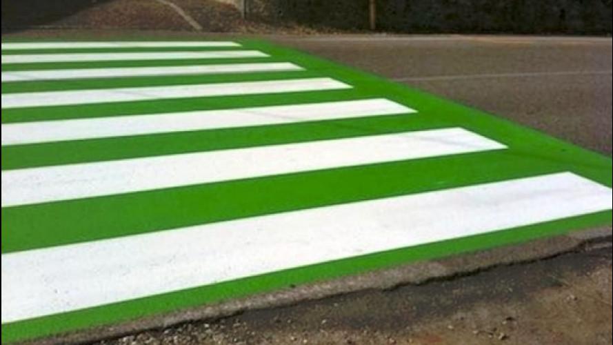 Strisce pedonali verdi, ora il tecnico deve risarcire il Comune