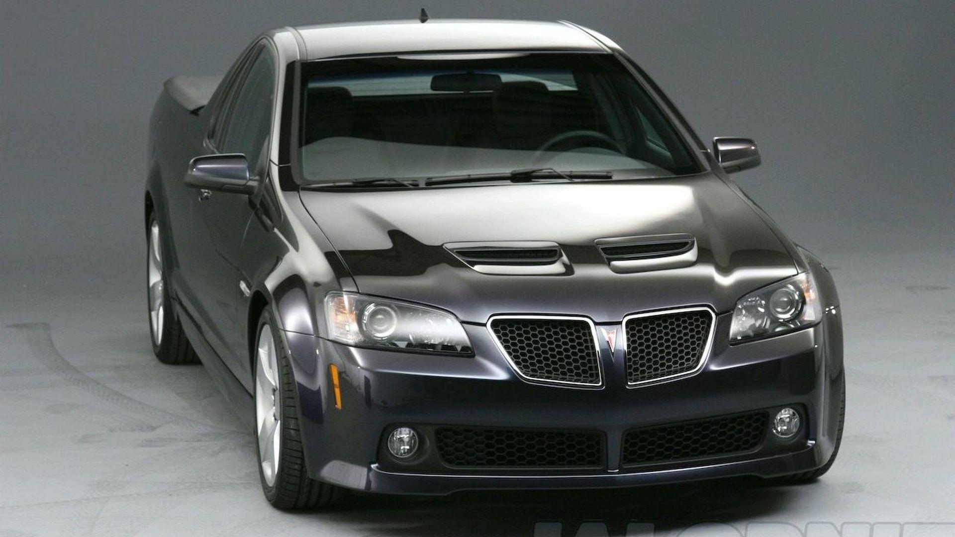 2021 Pontiac G8 Gt Concept