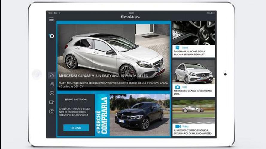 [Copertina] - OmniAuto.it, arriva l'app dedicata ai tablet iOS o Android