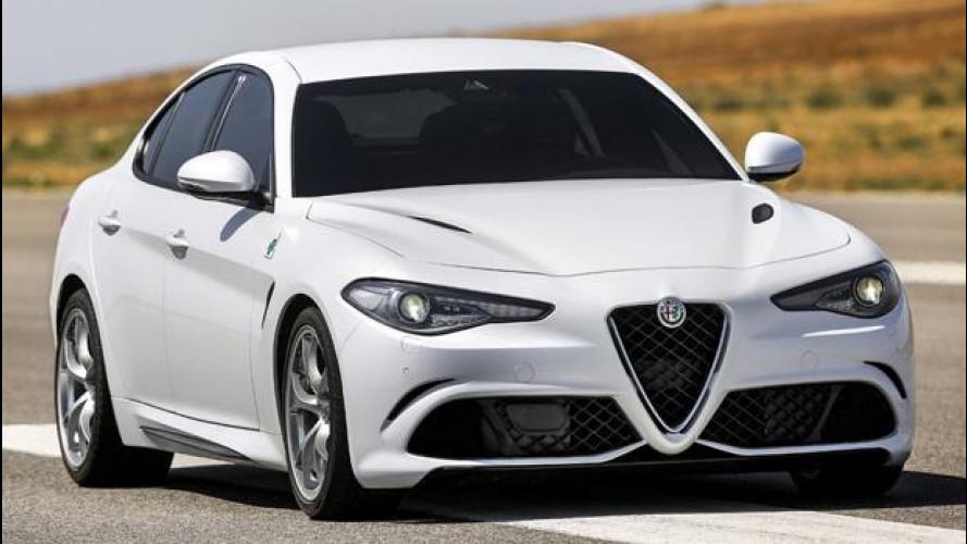 Alfa Romeo Giulia e le concorrenti