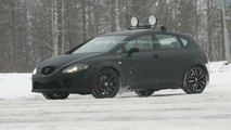 Next Seat Leon CUPRA R spy photos