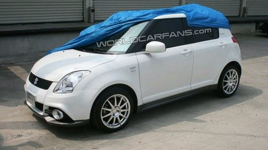 Suzuki Swift JWRC Special Edition Spied in Japan