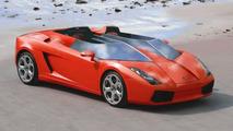 Lamborghini Gallardo S - computer rendering