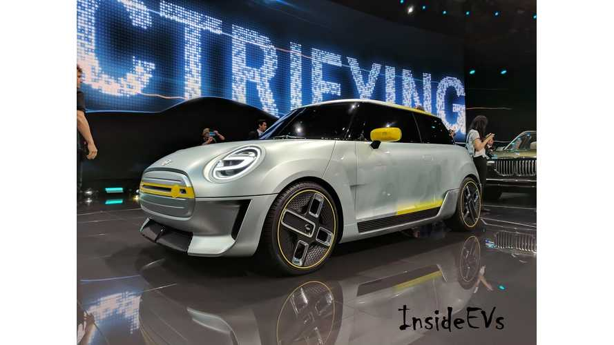 MINI Electric Bows At The Frankfurt Motor Show - More Live Pics & Videos