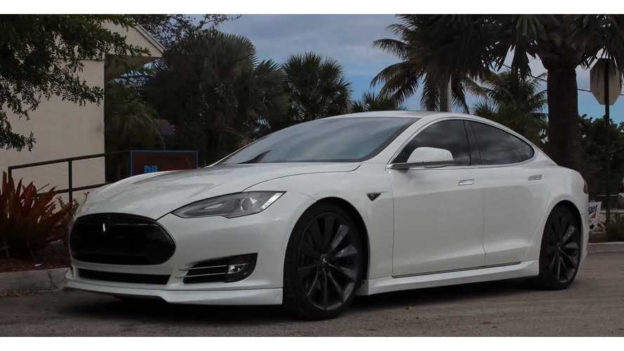 Installing Unplugged Performance Body Kit On Tesla Model S - Video