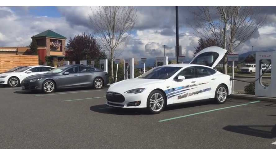 Road Trip From Seattle To Atlantic City In Tesla Model S 85D - Video