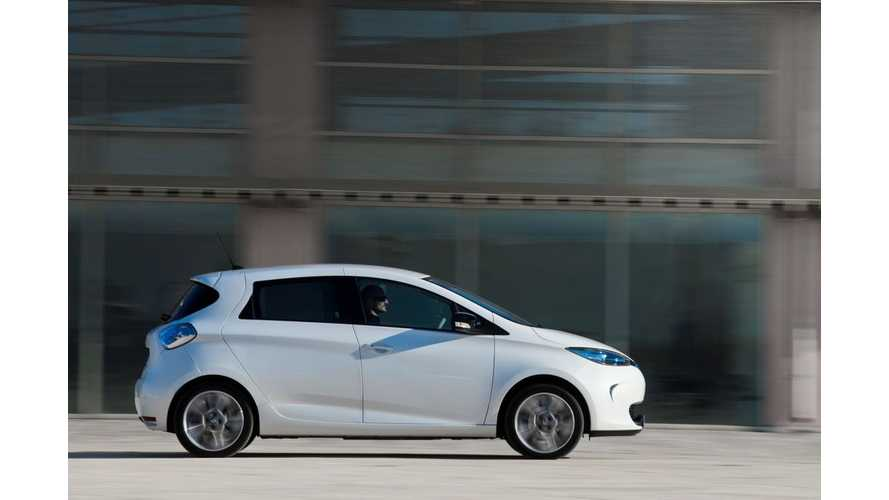 Official: Renault ZOE Gets Increased Range
