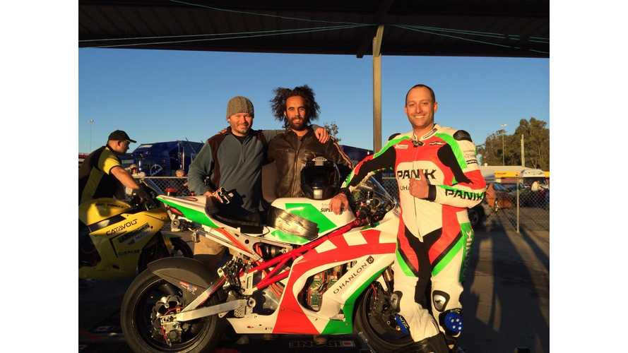 A Rider Talks About the Ride: Danny Pottage on Racing the Voltron (w/video)
