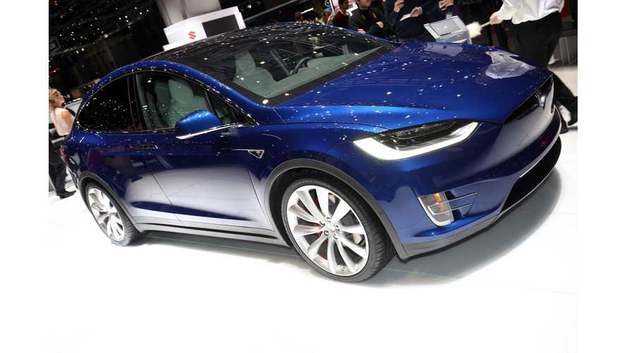 Tesla Model X First Look On Fully Charged