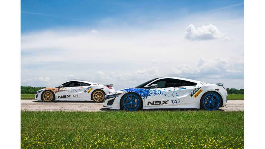 Pure Electric Acura NSX To Compete At Pikes Peak