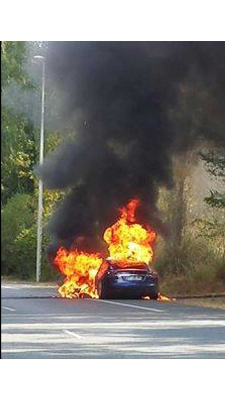 Model S Fire In France Blamed On Bad Electrical Connection, According To Tesla