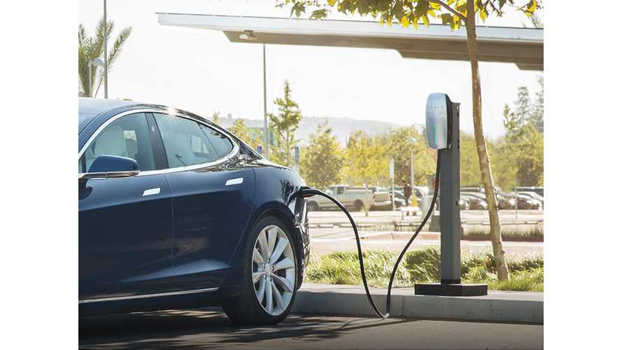 Tesla Introduces New Workplace Charging Program