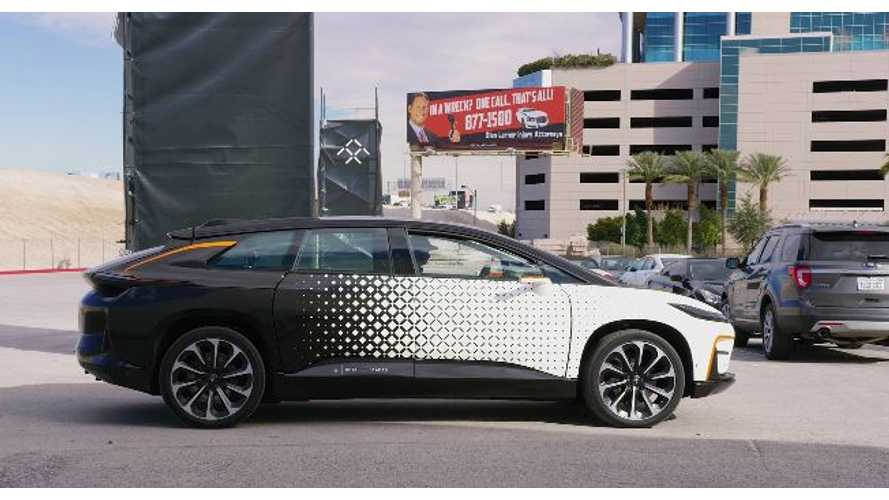 Faraday Future's Struggles Continue