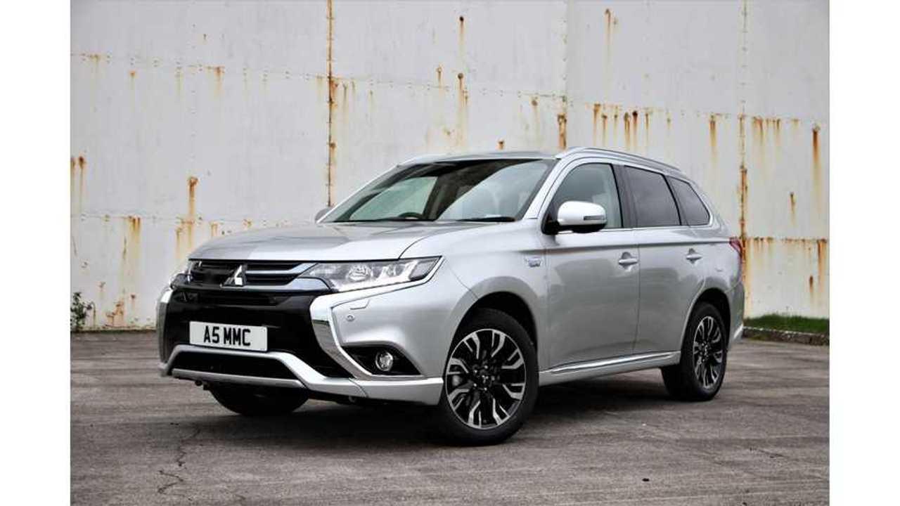 Mitsubishi Outlander PHEV Leads British Plug-In Electric Car Market