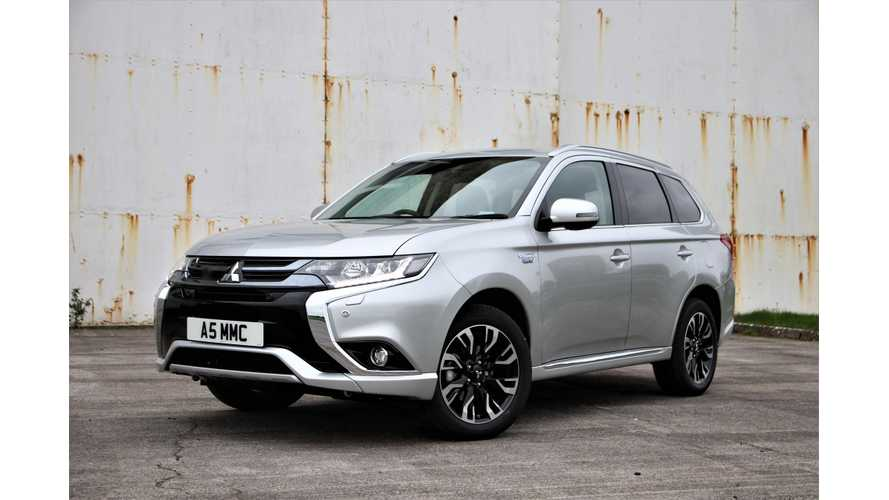Mitsubishi Outlander PHEV Leads British Plug-In Electric Car Market