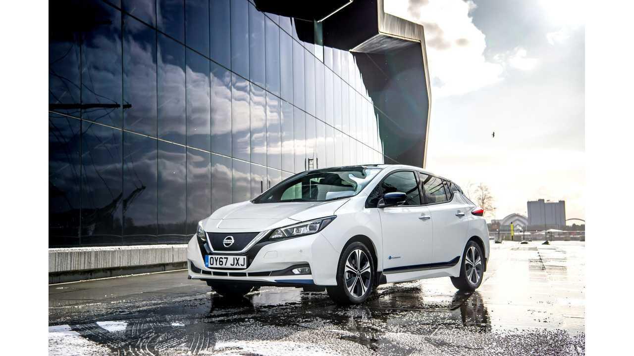 Nissan LEAF Sales Shot Up In U.S. In May 2018