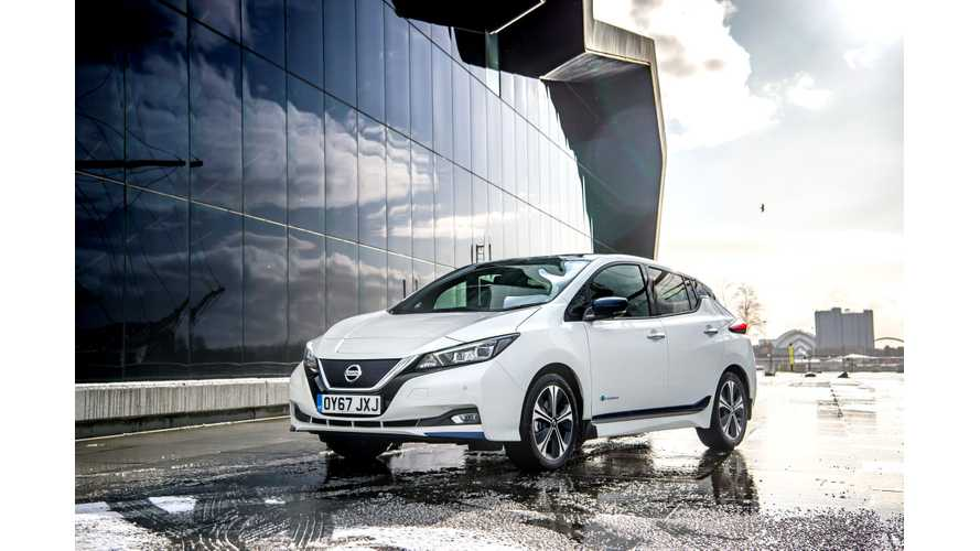 Nissan LEAF Sales Shot Up In U.S. In May 2018