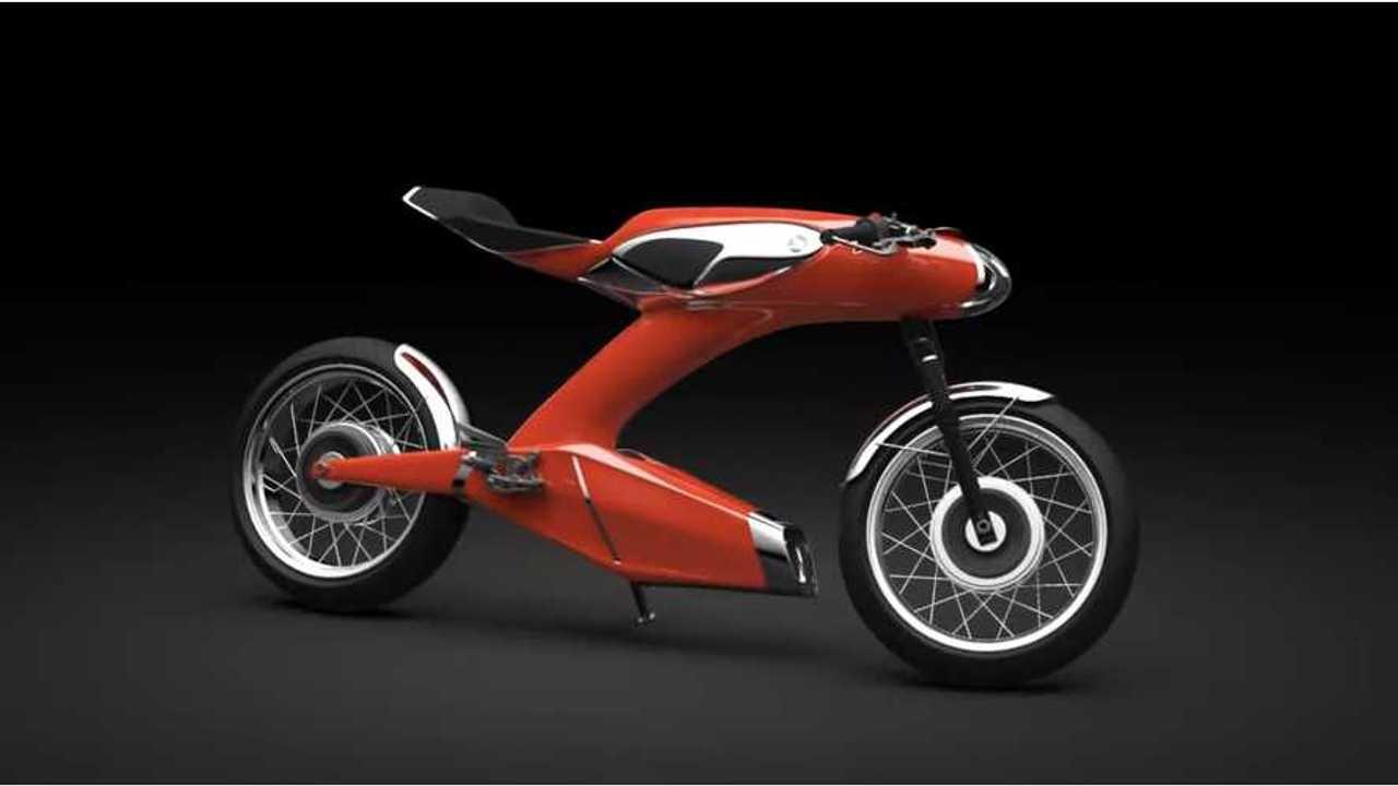 50th Anniversary Honda Super 90 (Electric) Concept