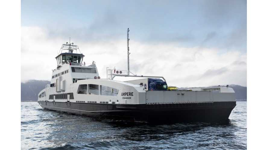 """World's First"" Electric Car Ferry Goes Live"